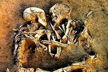 Casal do período da Pedra Polida