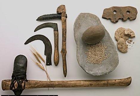 Armas e ferramentas do Período Neolítico