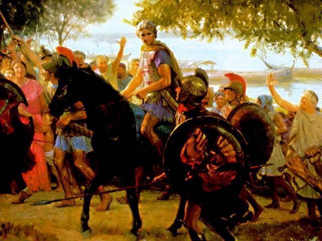Alexandre, O Grande em seu cavalo