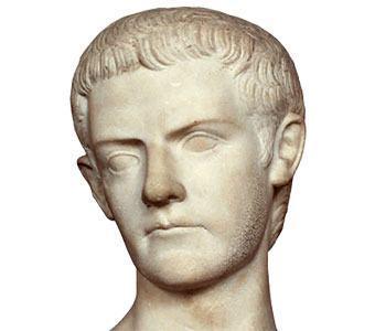 Calígula - Estátua em Mármore