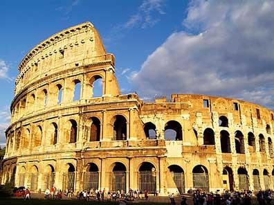 História da Roma Antiga - Coliseu