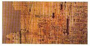 Papiros do Antigo Egito