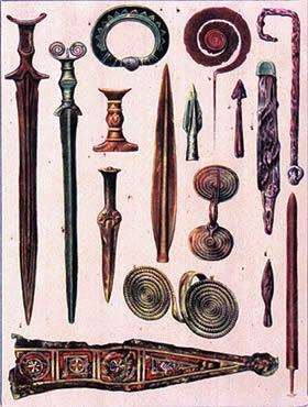 Armas da Idade dos Metais