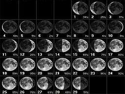 Calendário da Lua