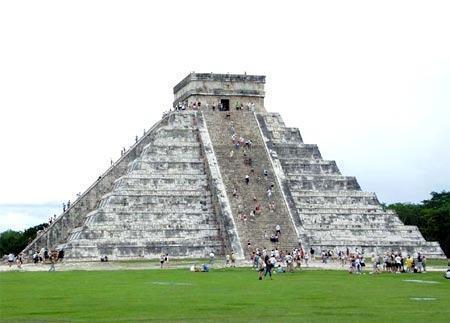 Construções astecas no México