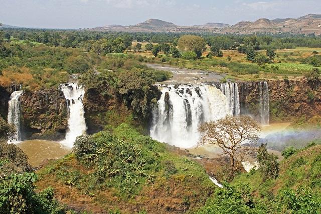 Catarata no Rio Nilo