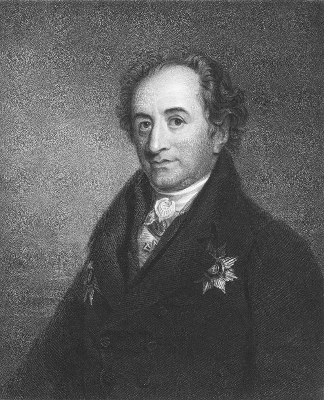 Goethe em preto e branco
