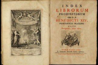Index – Lista dos livros proibidos pela igreja católica