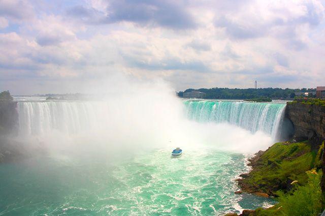 Economia do Canadá - Cataratas do Niagara