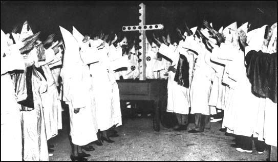 Ku Klux Klan - Resumo histórico desta seita