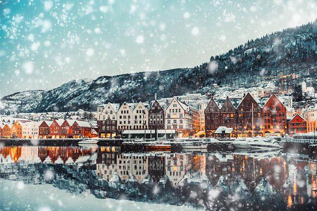 Noruega - clima frio, polar