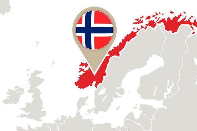 Noruega - localizada no Norte europeu