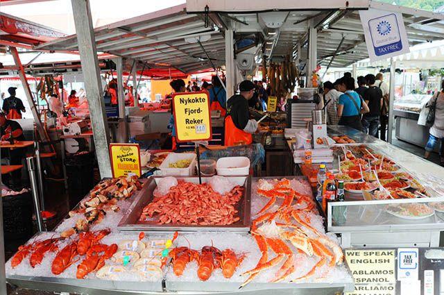 Noruega - a pesca é um forte da economia do país