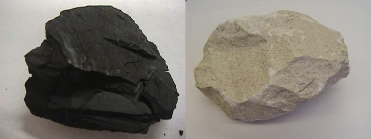 Carvão e Calcário