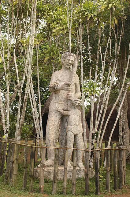 Estátua de Ganga Zumba no Parque da Serra da Barriga