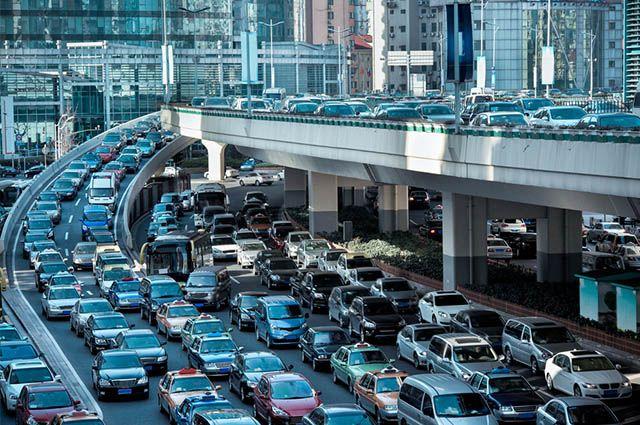 Metrópoles do Brasil - Problemas de trânsito