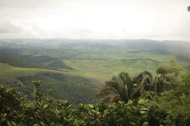 Serra da Batinga vista de mirante