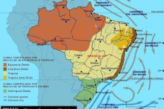 Climas do Brasil – Tipos e mapa