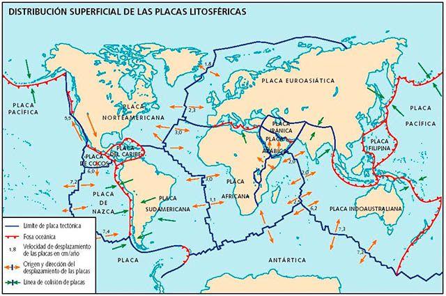 Turismo na Cordilheira dos Andes - Placas Litosféricas