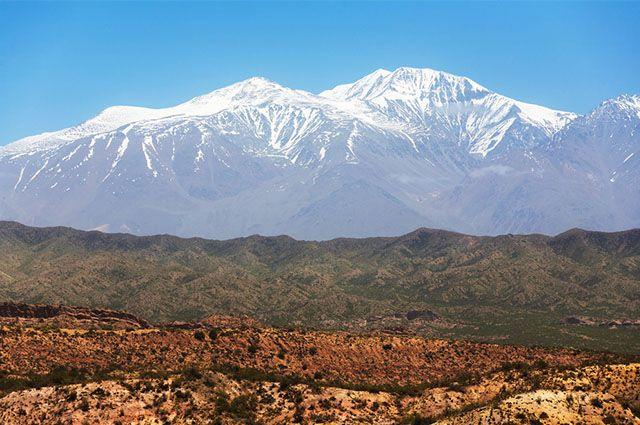 Turismo na Cordilheira dos Andes - Cerro Aconcagua