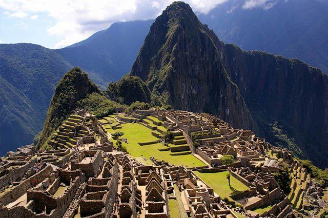 Turismo na Cordilheira dos Andes - Macchu Picchu