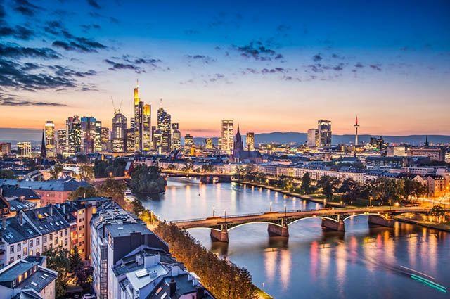 Economia da Alemanha - Detalhes de sua moeda e atividades econômicas - Frankfurt
