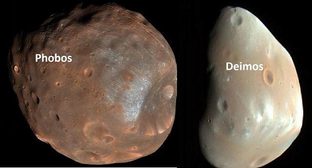 Planeta Marte - Temperatura, características e fotos - Satélites de Marte