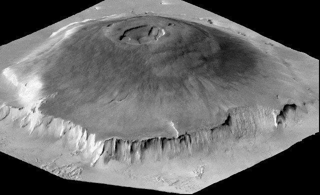 Planeta Marte - Temperatura, características e fotos - Monte Olimpo