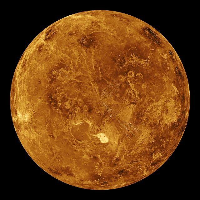 Planeta Vênus - Fotos, temperatura e características