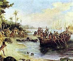 Os portugueses e os índios brasileiros