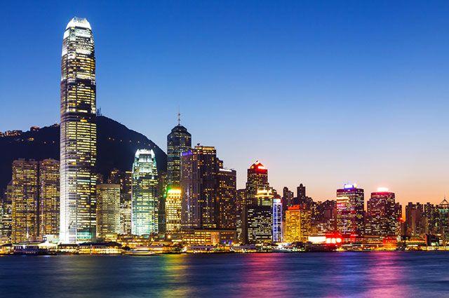 Tigres Asiáticos - Economia e mapa dos países - Hong Kong