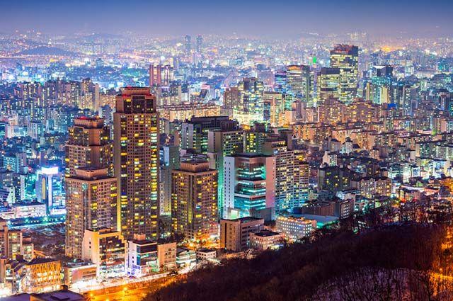 Tigres Asiáticos - Economia e mapa dos países - Seul