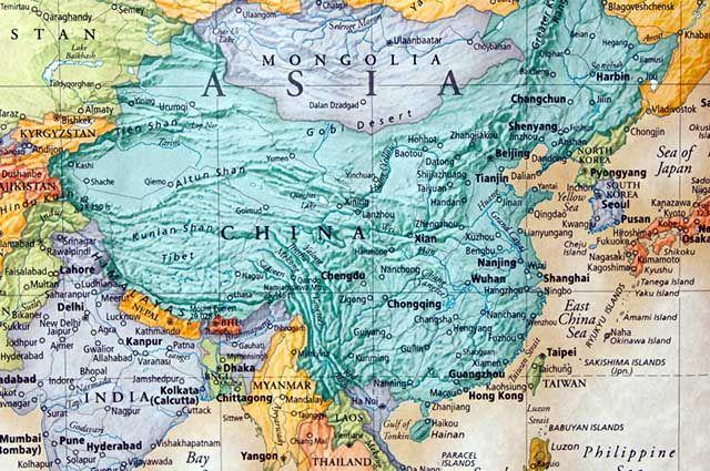 Tigres Asiáticos - Economia e mapa dos países