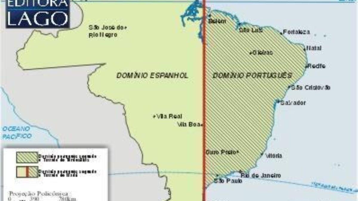 Tratado De Madri Mapa E Detalhes Deste Acordo Estudo Pratico