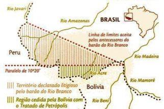 O Acre, a Bolívia e o Tratado de Petrópolis