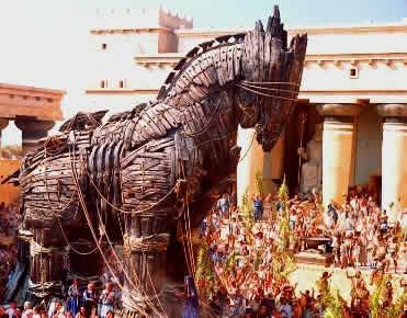 Cavalo oco - Guerra de Troia
