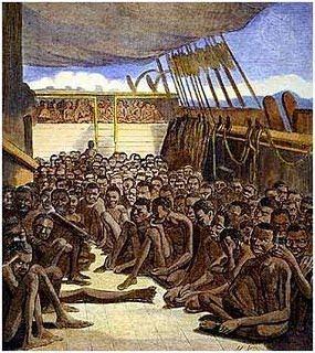 Navio negreiro- Tráfico de escravos