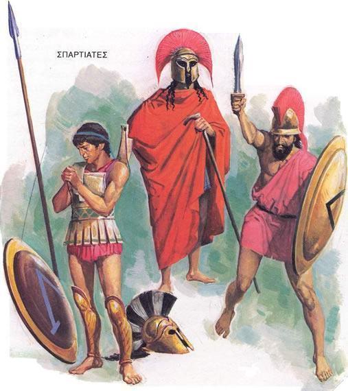 Educação espartana na Grécia Antiga - Estudo Prático