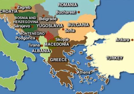 Península Balcânica - Mapa e história dos países - Estudo Prático