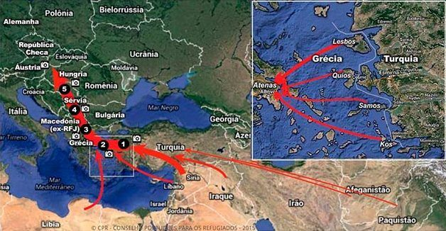 Península Balcânica - Mapa e história dos países