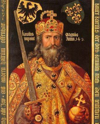 Carlos Magno - Reino dos francos