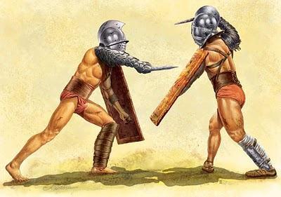 Gladiadores romanos - História da Roma Antiga