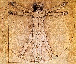 Antropocentrismo - Homem Vitruviano