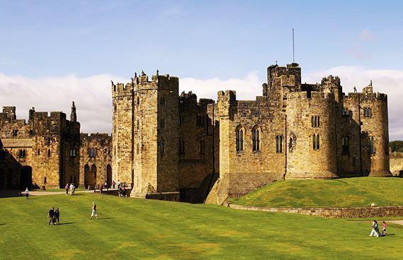 Castelo de Alnwick, Norte da Inglaterra