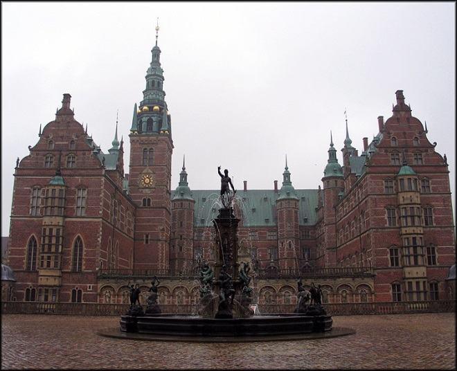 Castelo Frederiksborg, Dinamarca