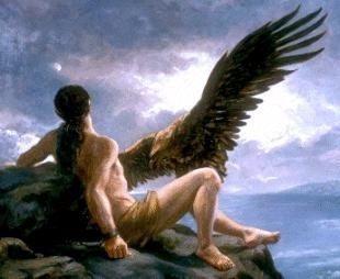 Prometeu e a águia