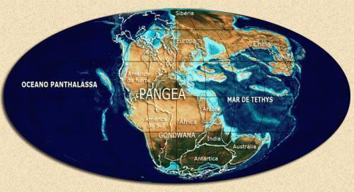 Pangeia: O mega continente