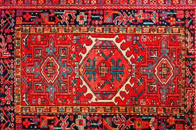 Irã: Cultura e costumes - Tapete