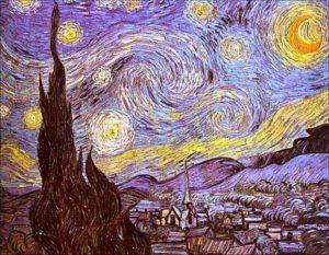 Noite Estrelada de Van Gogh