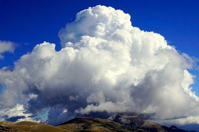 Tornado - Nuvem cumulonimbus